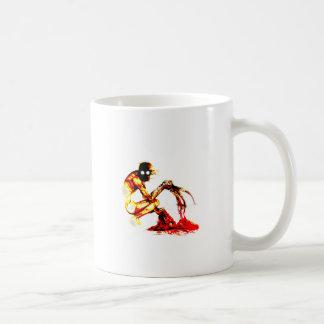 El rastrillo taza de café