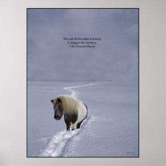El rastro del potro - poster de la cita de sir Fra