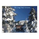 El rastro largo, Vermont en invierno Postales