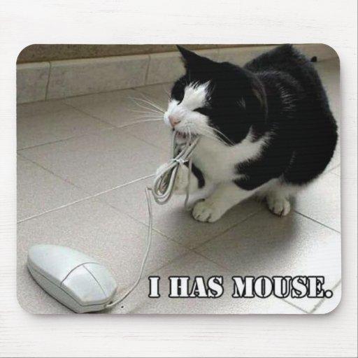 El ratón alfombrilla de ratones