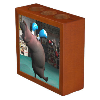 El ratón bate el hipopótamo KO Organizador De Escritorio
