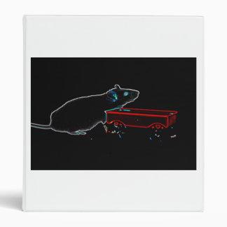 el ratón con oscuridad del carro resume el animal