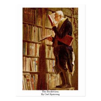 El ratón de biblioteca de Carl Spitzweg Postales