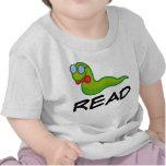 El ratón de biblioteca divertido LEYÓ el regalo Camisetas