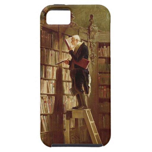 El ratón de biblioteca iPhone 5 fundas