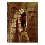 El ratón de biblioteca postales