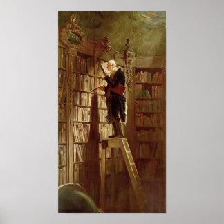 El ratón de biblioteca póster