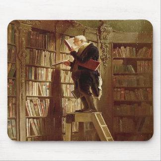 El ratón de biblioteca tapetes de ratón
