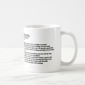 El ratón de biblioteca tazas de café