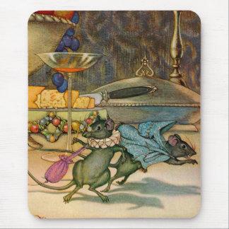 El ratón de la ciudad y el ratón del país alfombrilla de raton