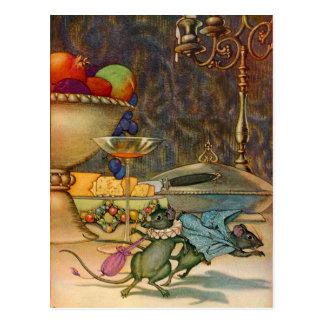 El ratón de la ciudad y el ratón del país postal