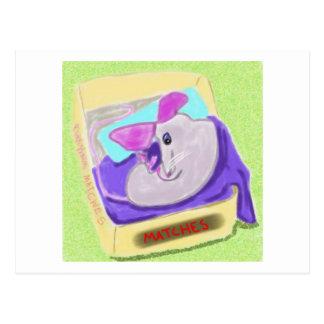 El ratón de Maria toma una siesta Postal