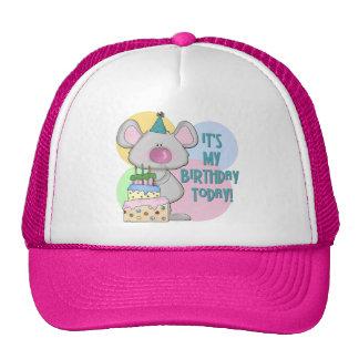 El ratón embroma el regalo de cumpleaños gorras de camionero