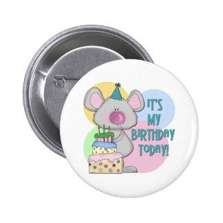 El ratón embroma el regalo de cumpleaños pin