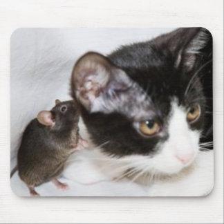 El ratón es confuso alfombrillas de ratón