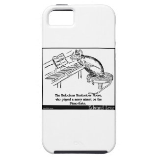 El ratón meritorio melodioso iPhone 5 protectores
