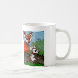 El ratón que viaja taza de café