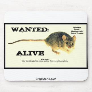 El ratón quiso vivo tapete de ratón