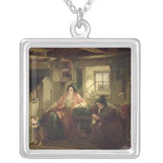 El rayo de la luz del sol, 1857 collar personalizado