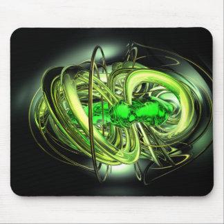 El rayo gama estalló Mousepad abstracto Alfombrillas De Raton
