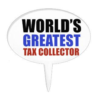 El recaudador de impuestos más grande del mundo figura para tarta