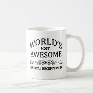 El recepcionista médico más impresionante del mund taza de café