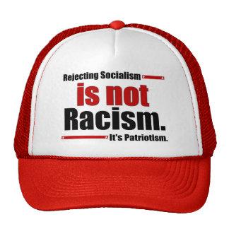 El rechazo de socialismo no es racismo… gorros