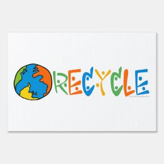 El reciclaje, recicla señales