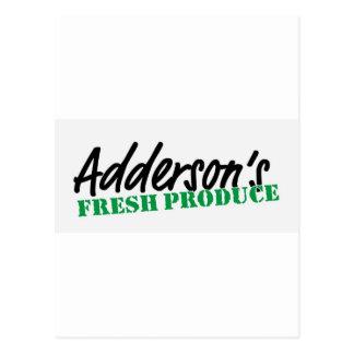 El recién hecho de Adderson Postal