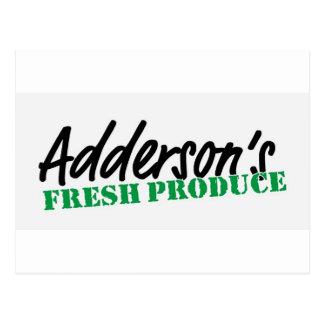 El recién hecho de Adderson Tarjeta Postal