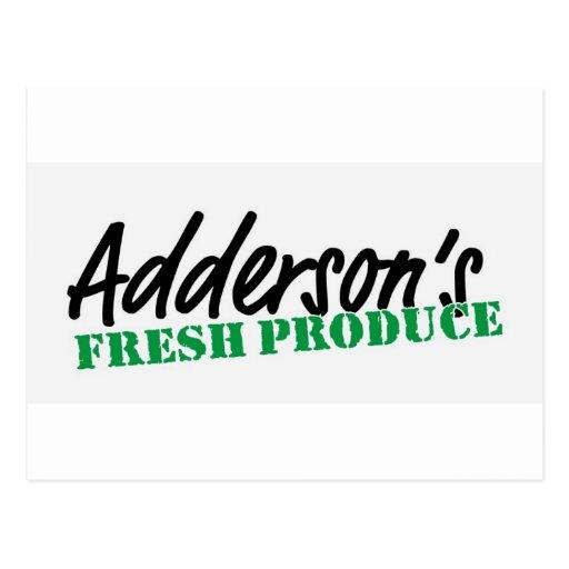 El recién hecho de Adderson Tarjetas Postales