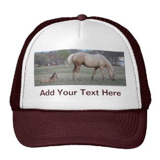 El recién llegado gorras