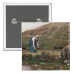 El recolector del bígaro, 1869 pin cuadrado