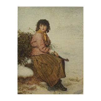 El recolector del muérdago, 1894 impresiones en madera