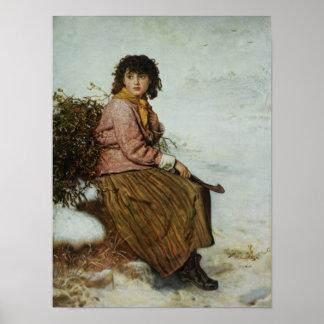 El recolector del muérdago, 1894 posters