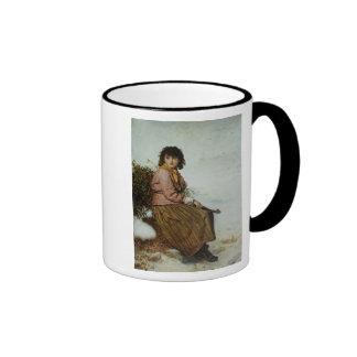 El recolector del muérdago, 1894 taza de café