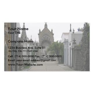 El Recoletta en Buenos Aires, Tarjetas De Visita