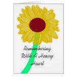 El recordar tarjeta de felicitación