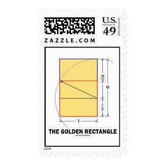 El rectángulo de oro (coeficiente de la sello