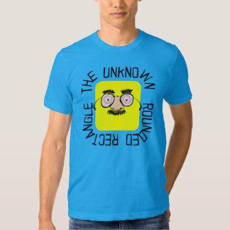 El rectángulo redondeado desconocido camisas