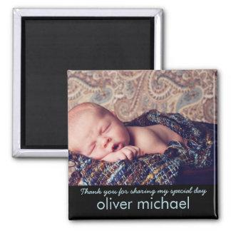 El recuerdo azul de la foto dulce del bebé le agra