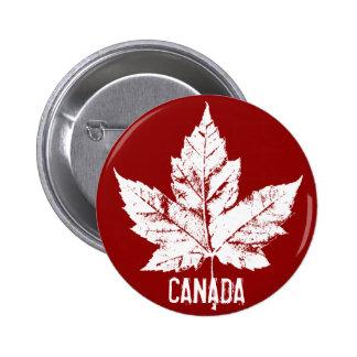 El recuerdo de Canadá abotona el Pin de la hoja de