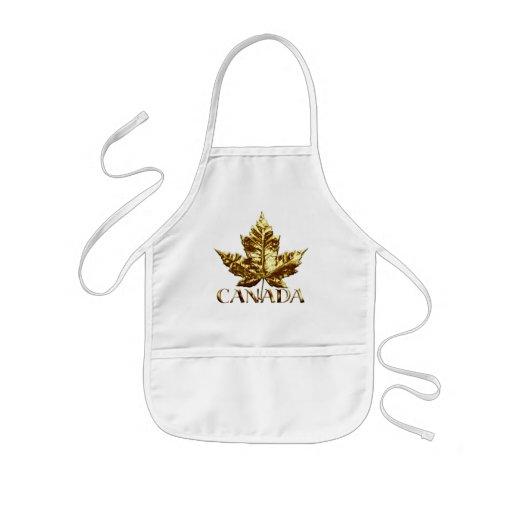 El recuerdo de la bandera de Canadá embroma el rec Delantales
