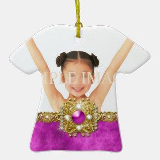El recuerdo de la foto de Mitzvah del palo PERSONA Ornamentos De Navidad