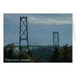 El recuerdo de Vancouver carda A.C. las tarjetas d