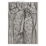 El Recumbant Eleanor de Aquitania Tarjeta De Felicitación