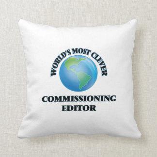 El redactor de Comisión más listo del mundo Cojín