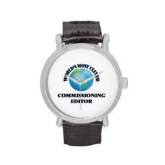 El redactor de Comisión más listo del mundo Relojes