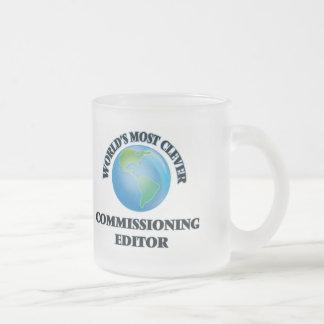 El redactor de Comisión más listo del mundo Tazas De Café