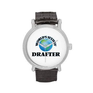 El redactor más atractivo del mundo reloj de mano